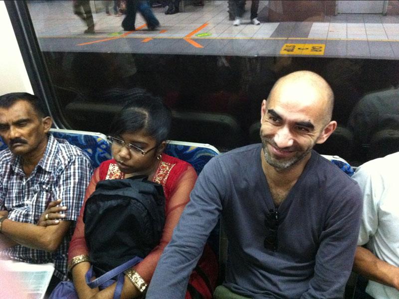 Carnet de Stage Silat Fatani 2013 - Feanck en route pour Kuala Lumpur