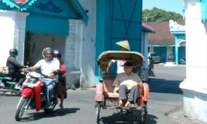 Penchak Silat à Solo - Becak