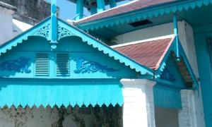 Penchak Silat à Solo - La couleur bleue à Solo