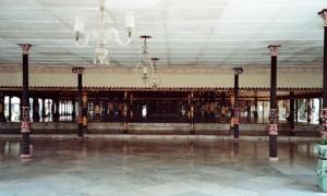 Penchak Silat à Yogyakarta - Salle d'entraînement du palais