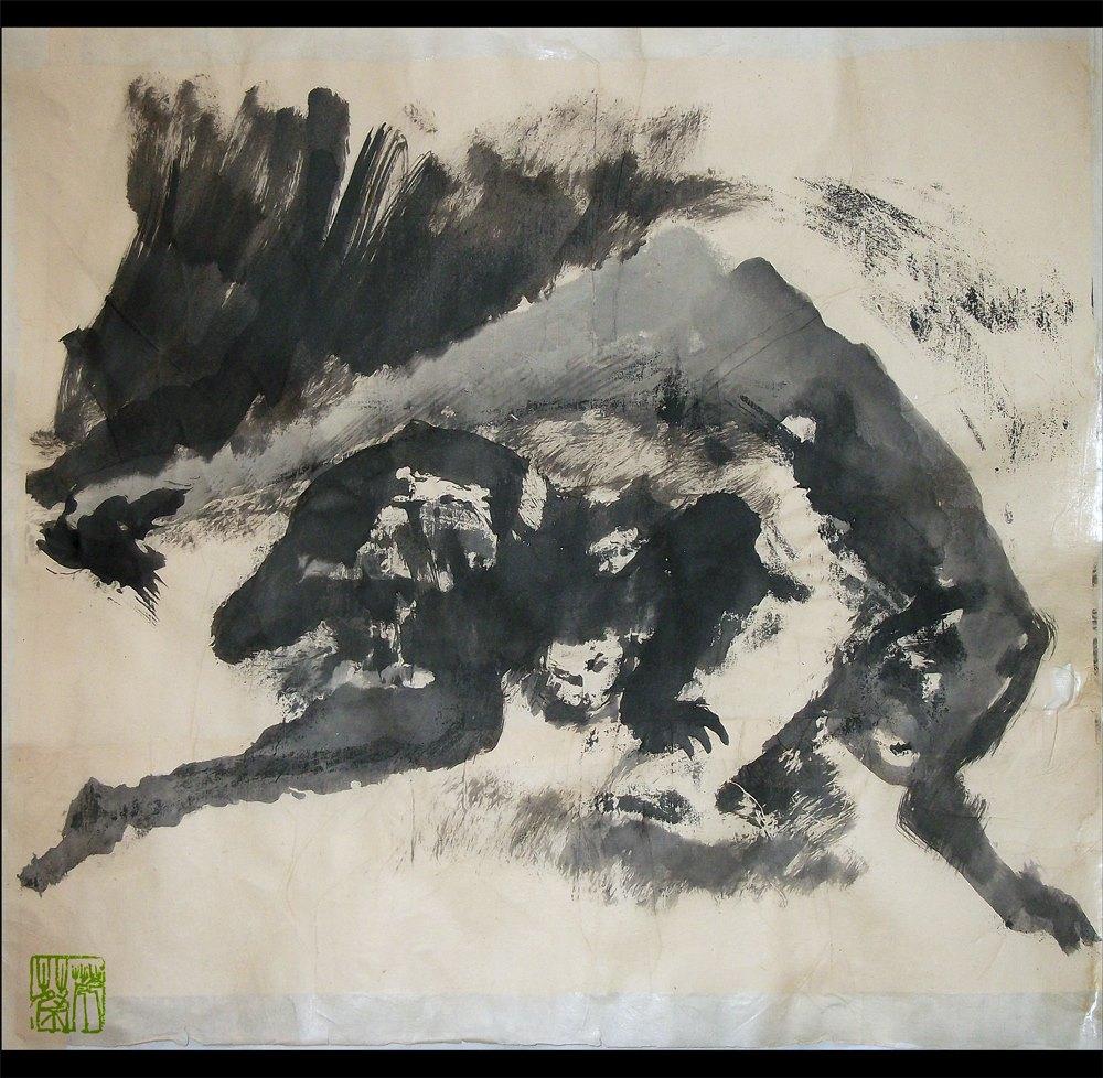Annick Lavocat - Peintures à l'encre   Culture Silat