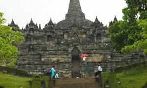 Penchak Silat à Yogyakarta - Temple de Borobudur