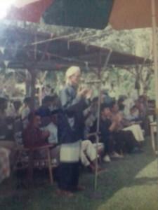 Pencak Silat - Seni Gayung Fatani Malaysia - Tapak Empat Guru Tua Tn. Hj. Iman Mansor Ismail