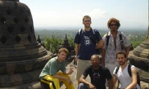 Penchak Silat à Yogyakarta - Voyage Pencak Silat de 2005