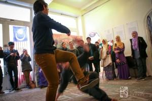 Culture Silat & MASAF - Cikgu Jérôme se fait malmener