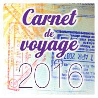 Carnet de Voyage 2016