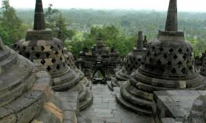 Penchak Silat à Yogyakarta - Temple bouddhiste vieux de 3000 ans