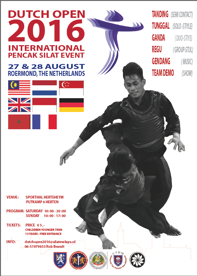 Affiche Dutch Open 2016