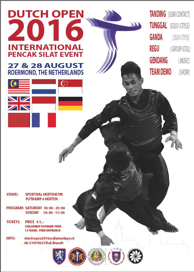 Affiche Dutch Open 2016