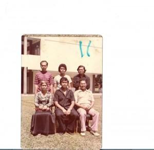Cikgu Anuar Wahab, Kak Mah et Cikgu Rahman Ismail