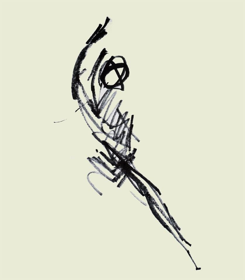 Annick Lavocat - Croquis Pencak Silat Seni Gayung Fatani 9