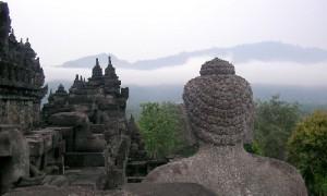 Penchak Silat à Yogyakarta - Bouddha contemplatif