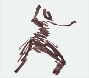 Annick Lavocat - Croquis Pencak Silat Seni Gayung Fatani 24