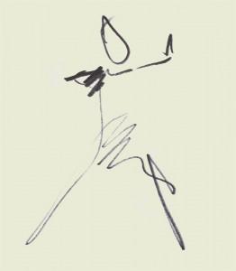 Annick Lavocat - Croquis Pencak Silat Seni Gayung Fatani 26