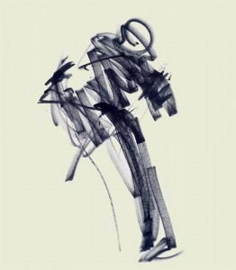 Annick Lavocat - Croquis Pencak Silat Seni Gayung Fatani 33