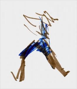 Annick Lavocat - Croquis Pencak Silat Seni Gayung Fatani 34