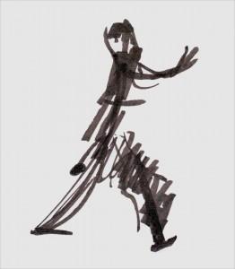 Annick Lavocat - Croquis Pencak Silat Seni Gayung Fatani 35