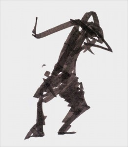 Annick Lavocat - Croquis Pencak Silat Seni Gayung Fatani 37