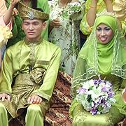 demonstration silat fatani - mariage malais
