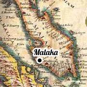 le silat - carte monde malais