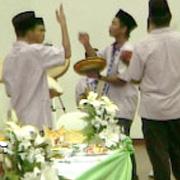 musique traditionnelle mariage malais - Penchak silat fatani
