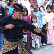 le silat seni gayung fatani - demonstration mariage malais