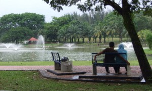 Kuala Lumpur - Ballade au parc - Culture-Silat