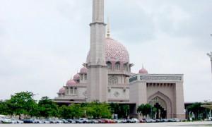 Mosquée minaret putrajaya malaisie - Culture-Silat