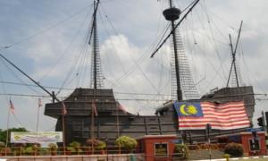 Melaka - Musée bateau - Culture-Silat
