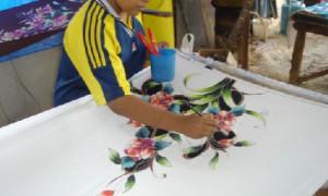 Penang - Batik peint - Culture-Silat