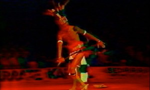 Penchak silat - danse guerriere dayak