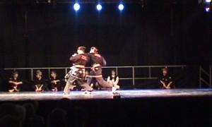 Penchak silat - combat choregraphie