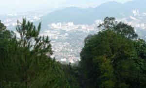 Penang - Vue depuis la colline - Culture-Silat
