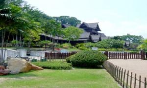 Melaka - Pavillon traditionnel - Culture-Silat