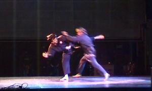 Penchak silat - Technique coup de pied