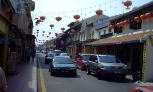 Melaka - Rue des antiquaires - Culture-Silat