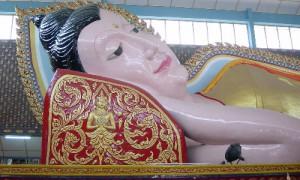 Penang Bouddha allongé Temple Thaïlandais - Culture-Silat