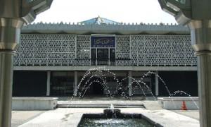 Kuala Lumpur - Entrée principale Mosquée Nationale - Culture-Silat