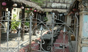 Melaka - Restaurant extérieur - Culture-Silat