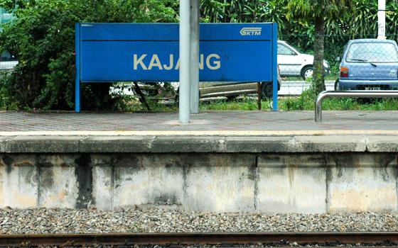 Voyage à Kajang
