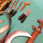 Pencak Silat - Nos armes d'entraînement de Penchak Silat