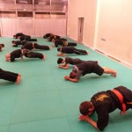 Pencak Silat - Echauffement - Gainage