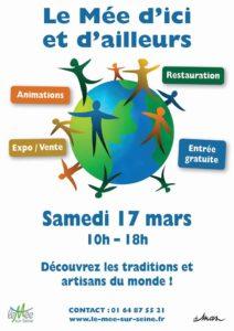 Affiche du Forum des Communauté du Mée-sur-Seine