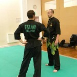 Pencak Silat - Audan et Jerome en pleine discussion