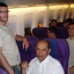 2006 - Tuan Raban pendant le voyage