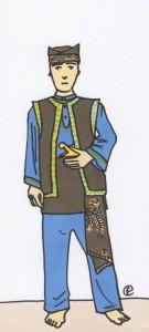 Daily Flavie - Audran en tenue traditionnelle de Pencak Silat