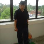 2008 - Tuan Raban après un cours de Silat en Malaisie