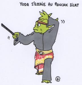 Daily Flavie - Yoda et le Silat Fatani
