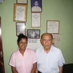 2013 - Tuan Raban & sa nièce au Sri Lanka