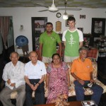 2013 - Tuan Raban & sa famille au Sri Lanka